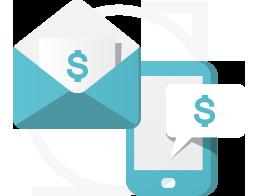 Sistema de cobrança com envio de SMS e email