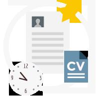 É possível adicionar uma foto e anexos, como documentos importantes ou a cópia da carteira de trabalho.