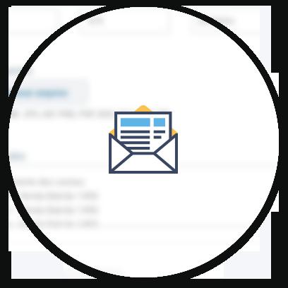 Envie Boletos e Notas Fiscais por e-mail