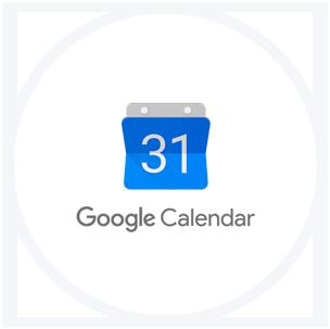 Integração o Google Calendar