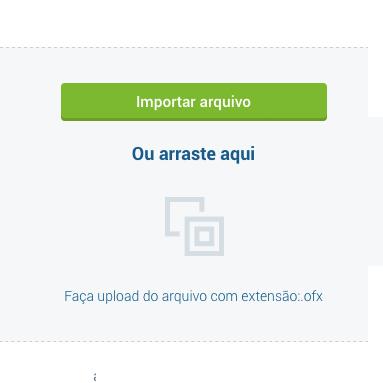Importação de arquivo OFX
